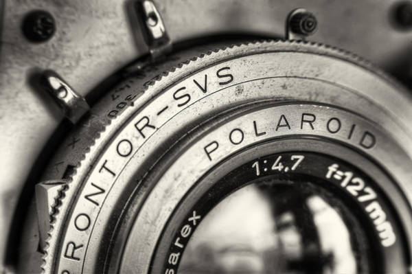 Shutter Photograph - Prontor Svs by Scott Norris
