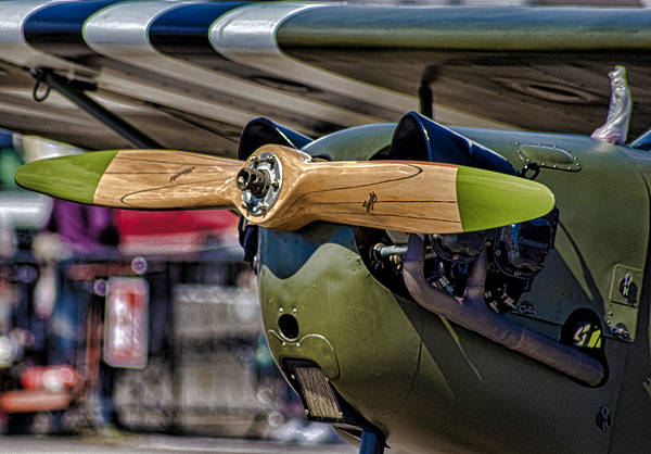 Airshow Photograph - Propellor by Martin Newman