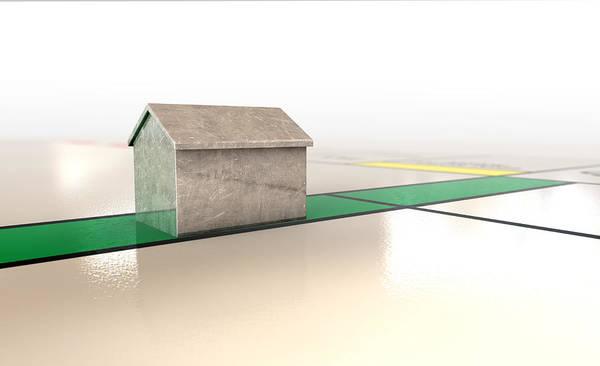Estate Digital Art - Property Monopoly by Allan Swart