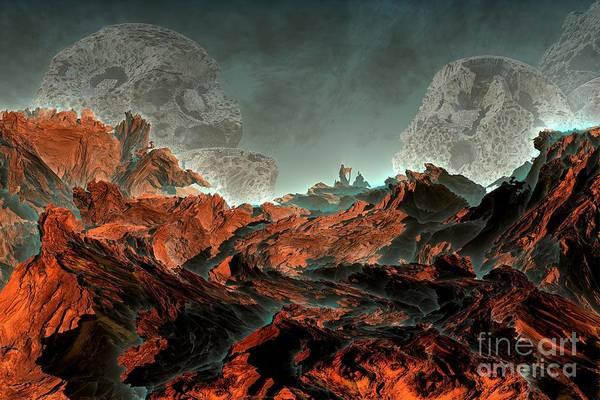 Prophecy Art Print by Bernard MICHEL
