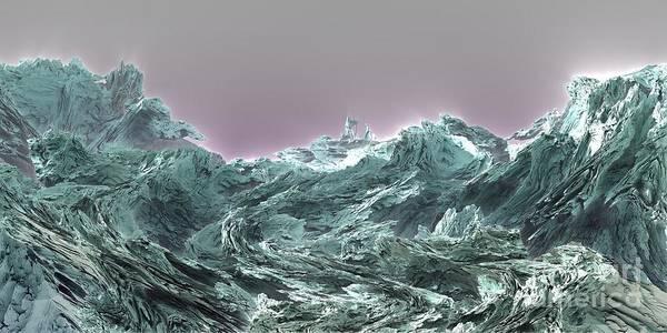 Digital Art - Prophet by Bernard MICHEL