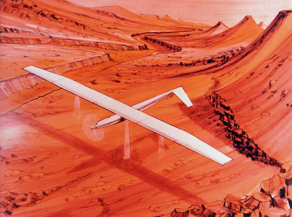 Impression Photograph - Proposed Aircraft To Study Mars by Nasa/science Photo Library.