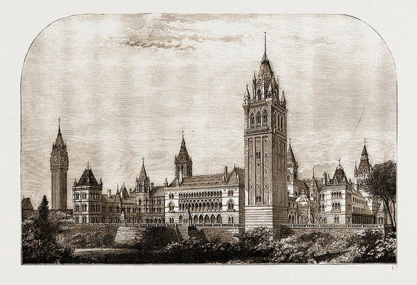 New South Wales Drawing - Proposed Houses Of Parliament, Sydney, New South Wales by Litz Collection