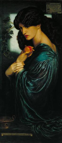 Gabriel Painting - Proserpine by Dante Gabriel Rossetti