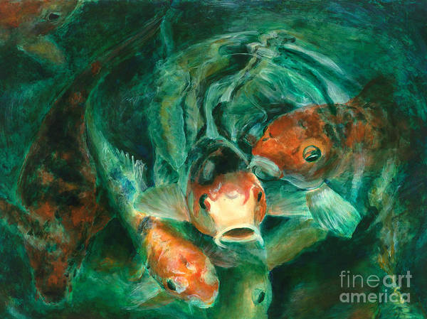 Painting - Prosperity Koi by Lyn Pacificar