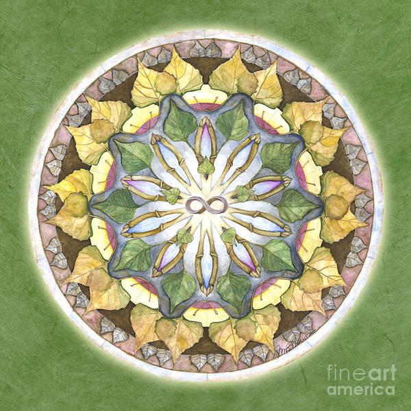 Painting - Prosperity Mandala by Jo Thomas Blaine