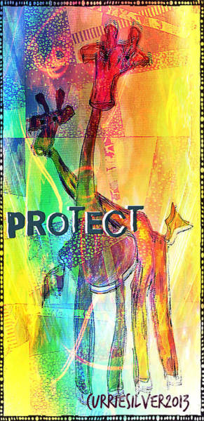 Protect Art Print by Currie Silver