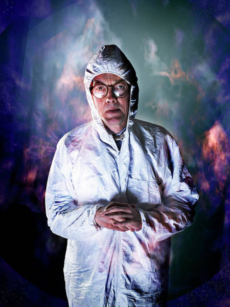 Protective Clothing Photograph - Protective Suit by Coneyl Jay/science Photo Library