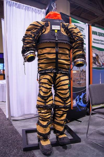 Protective Clothing Photograph - Prototype Spacesuit by Mark Williamson/science Photo Library