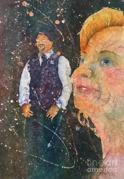 Painting - Proud Mother Of The Groom by Carol Losinski Naylor