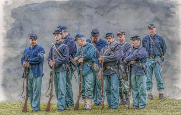 Proud Veterans Of The 40th Pennsylvania Vol Infantry Art Print