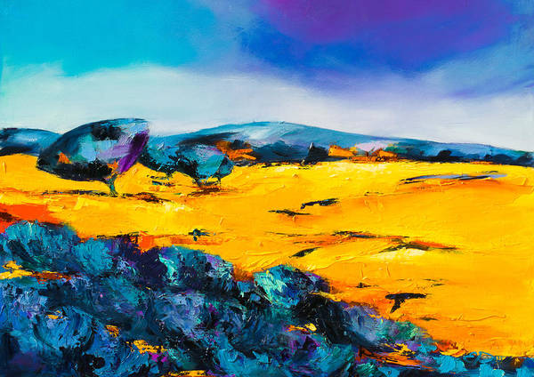Painting - Provence Colors by Elise Palmigiani