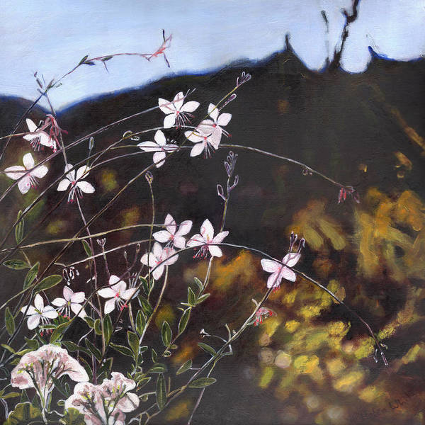 Painting - Provencal Garden I by Helen White