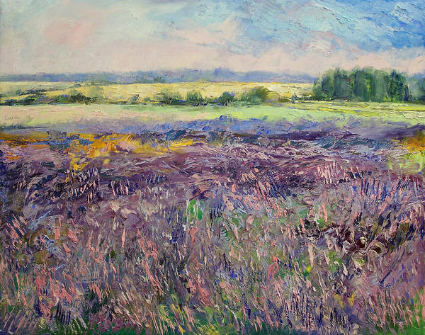 Southern France Painting - Provence Lavender by Michael Creese