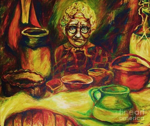 Painting - Proverbs 31 Woman by Carole Spandau