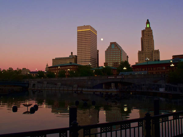 Photograph - Providence At Sunset by Nancy De Flon
