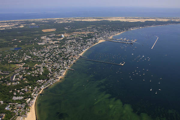 Provincetown Harbor Photograph - Provincetown Harbor, Provincetown by Dave Cleaveland