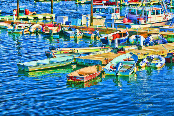 Photograph - Provincetown Harbor by Bill Barber