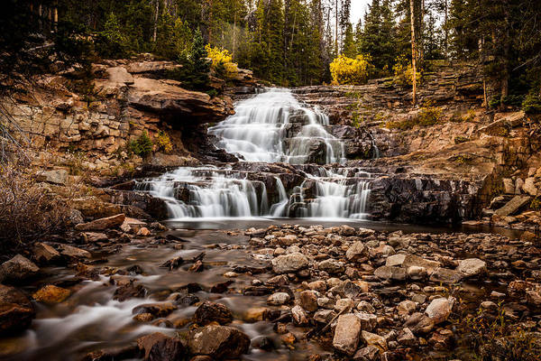 Photograph - Provo River Falls #4 by TL  Mair