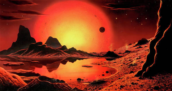 Wall Art - Photograph - Proxima Centauri Planet by David A. Hardy/science Photo Library
