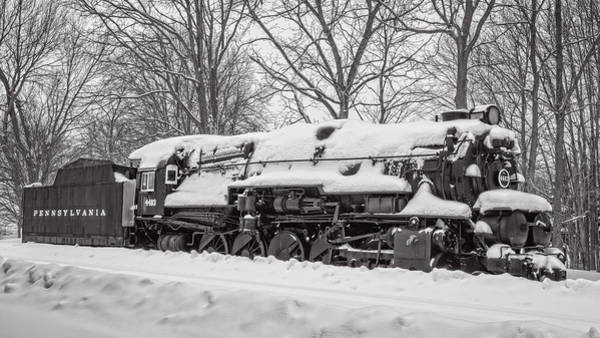 Photograph - Prr #4483 Hibernating by Guy Whiteley