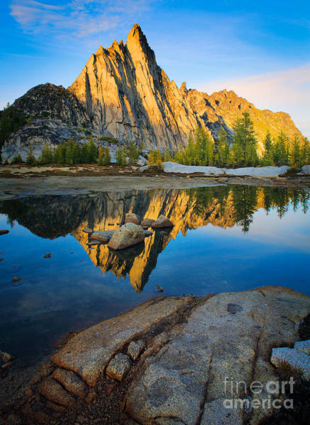 Alpine Lakes Wilderness Photograph - Prussik Sunset by Inge Johnsson