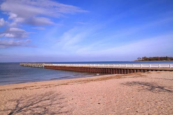 Photograph - Prybil Beach Pier by Bob Slitzan
