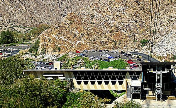 Aerial Tramway Wall Art - Photograph - Ps Aerial Tram 1 by Ron Kandt