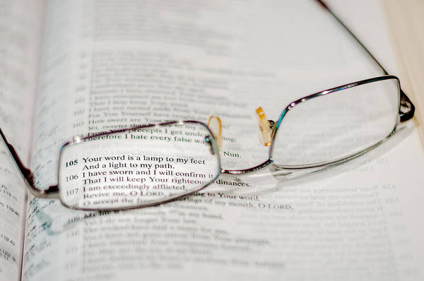 Photograph - Psalm 119 by Andy Crawford