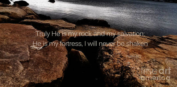 Photograph - Psalm 62 by Andrea Anderegg