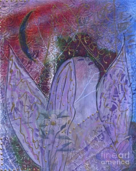 Wall Art - Mixed Media - Psalm 8 by Nancy TeWinkel Lauren