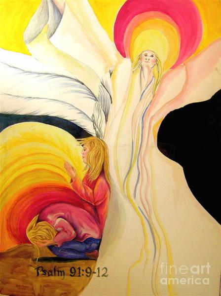 Genie Painting - Psalms 91 by Genie Morgan
