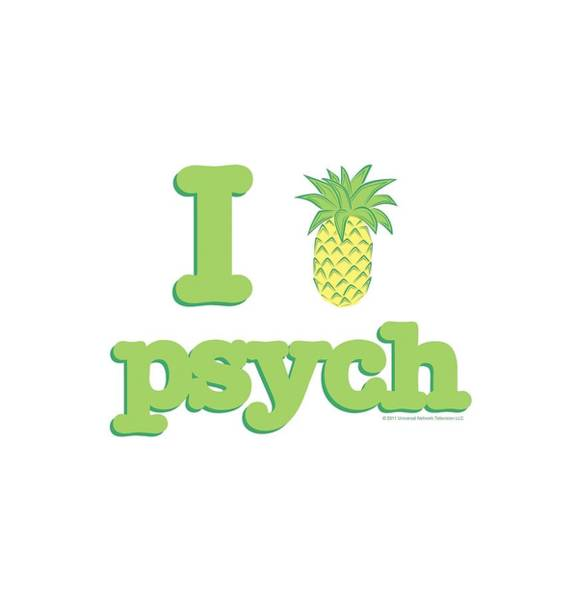 Gus Wall Art - Digital Art - Psych - I Like Psych by Brand A