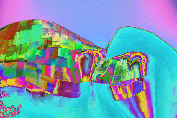 Photograph - Psychedelic Hendrix Hall by Richard Henne