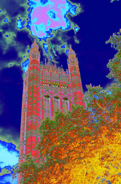 Habenero Photograph - Psychedelic Westminster by Richard Henne