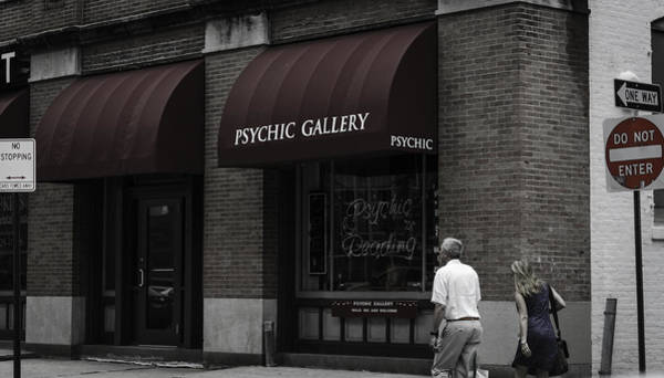 Wall Art - Photograph - Psychic Gallery by Ryan Routt