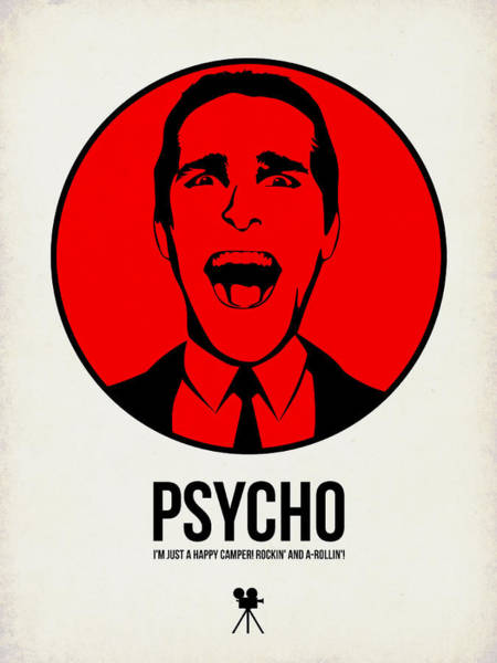 Wall Art - Digital Art - Psycho Poster 2 by Naxart Studio