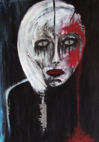 Painting - Psychosis by Katerina Apostolakou