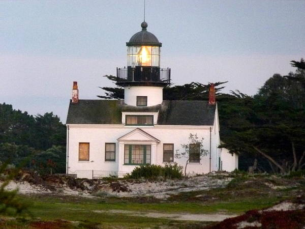 Photograph - Pt. Pinos Lighthouse by Jeff Lowe