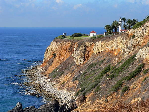 Photograph - Pt. Vicente Lighthouse by Jeff Lowe