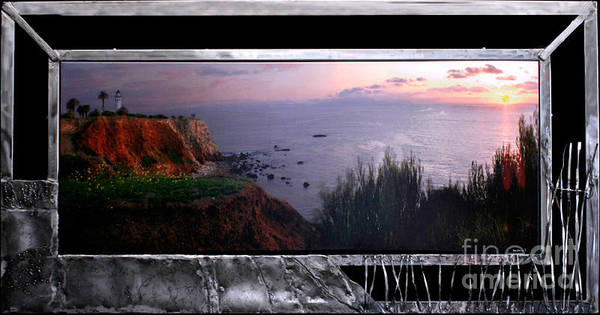 Point Vicente Wall Art - Mixed Media - Pt Vicente's Lady Of The Light by Heather Harris