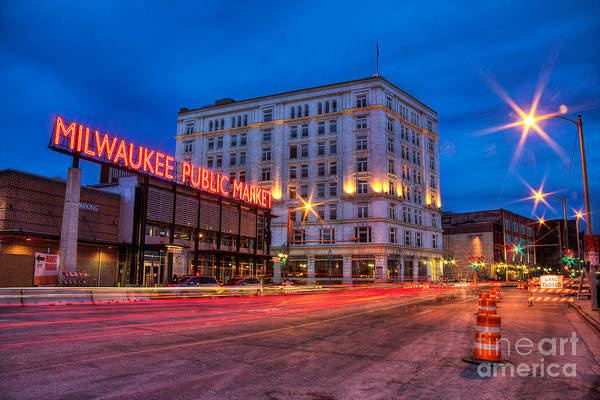 Mke Photograph - Public Market Zip by Andrew Slater