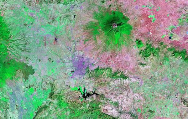 Puebla Wall Art - Photograph - Puebla Region by Nasa/science Photo Library