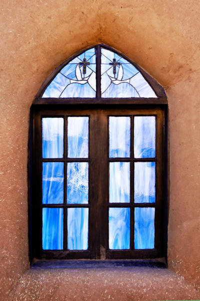 Photograph - Pueblo And Stained Glass by Marilyn Hunt