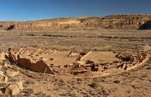 Chaco Canyon Wall Art - Photograph - Pueblo Bonito, Anasazi Indian Ruins by Witold Skrypczak