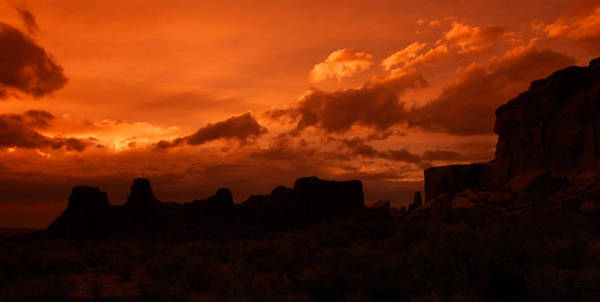Photograph - Pueblo Bonito In Orange by Ghostwinds Photography