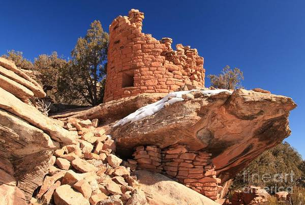 Photograph - Pueblo Cliff by Adam Jewell