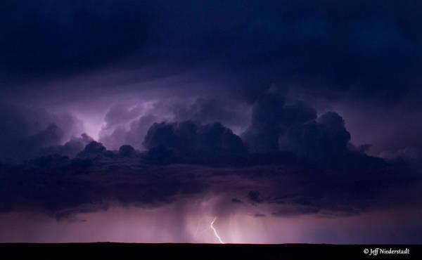 Pueblo Lightning Art Print