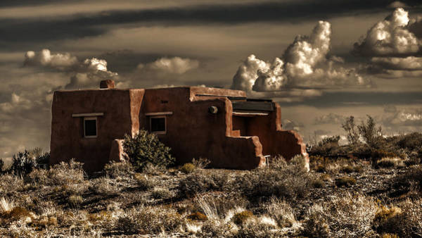 Photograph - Pueblo Sundown by Wes and Dotty Weber