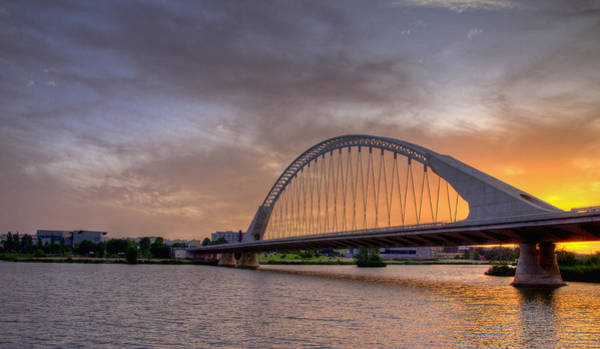 Puente De Lusitania II Art Print